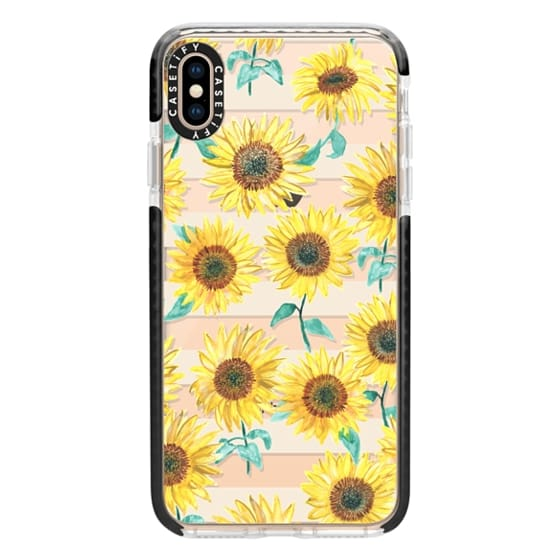 iPhone XS Max Cases - Sunny Sunflower