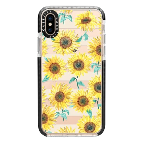 iPhone XS Cases - Sunny Sunflower