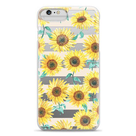 iPhone 6 Plus Cases - Sunny Sunflower