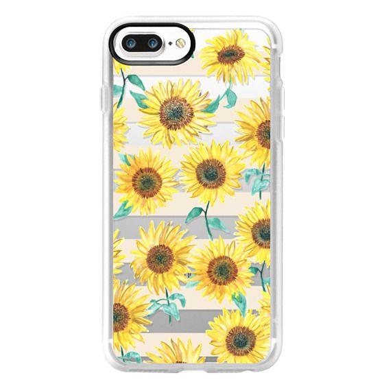 iPhone 7 Plus Cases - Sunny Sunflower