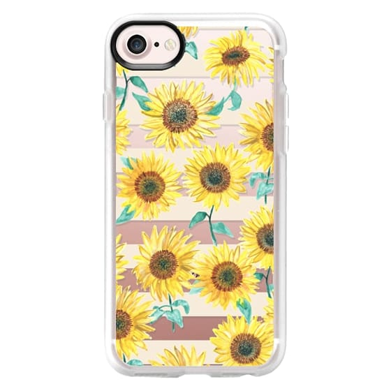iPhone 4 Cases - Sunny Sunflower