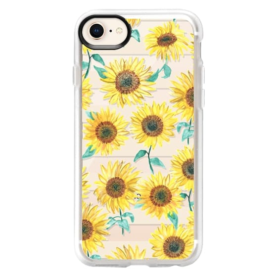 iPhone 8 Cases - Sunny Sunflower