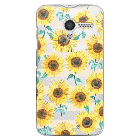 Moto X Cases - Sunny Sunflower