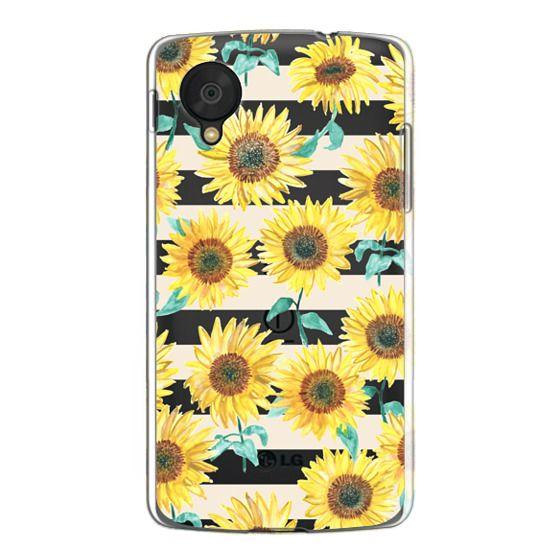 Nexus 5 Cases - Sunny Sunflower