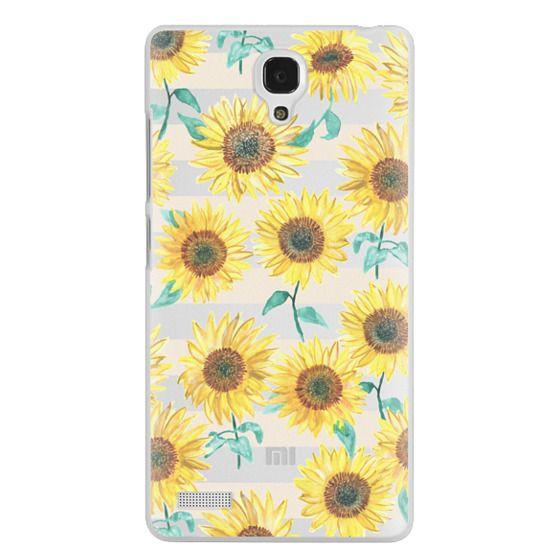 Redmi Note Cases - Sunny Sunflower
