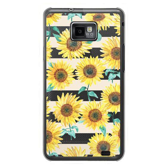 Samsung Galaxy S2 Cases - Sunny Sunflower