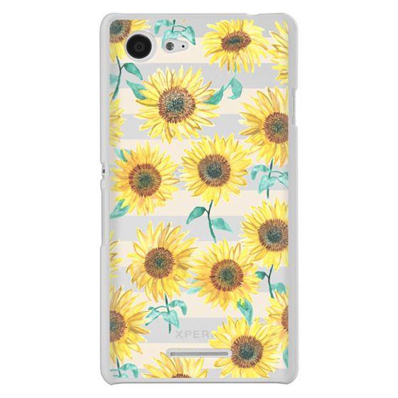 Sony E3 Cases - Sunny Sunflower