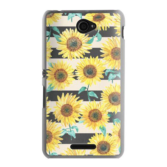 Sony E4 Cases - Sunny Sunflower