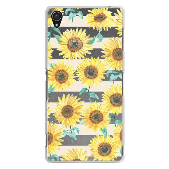 Sony Z3 Cases - Sunny Sunflower