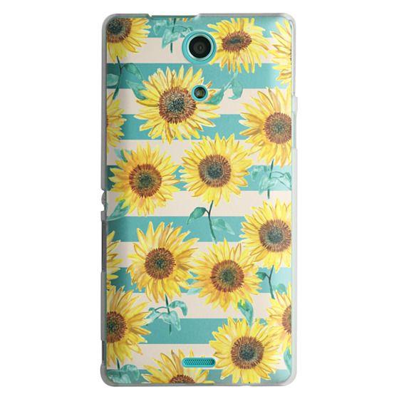 Sony Zr Cases - Sunny Sunflower