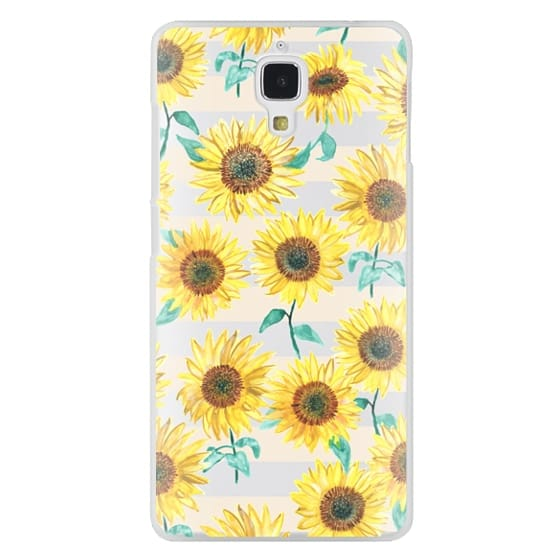 Xiaomi 4 Cases - Sunny Sunflower