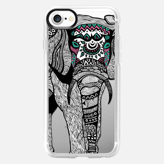 One Tribal Elephant - Wallet Case