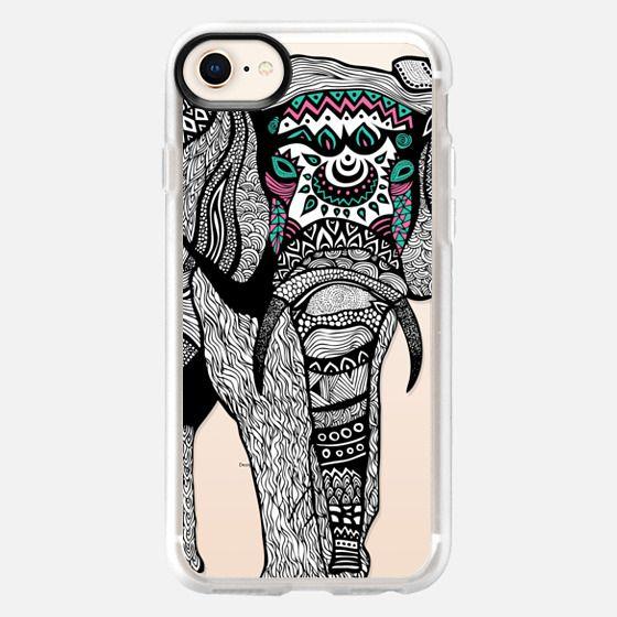 One Tribal Elephant - Snap Case