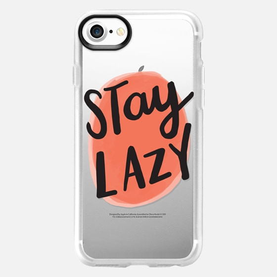 Stay Lazy - Wallet Case
