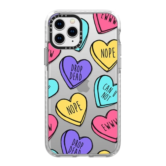 iPhone 11 Pro Cases - Bitter Sweet Candy Hearts