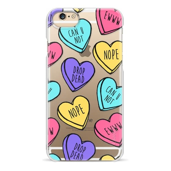 iPhone 6s Cases - Bitter Sweet Candy Hearts