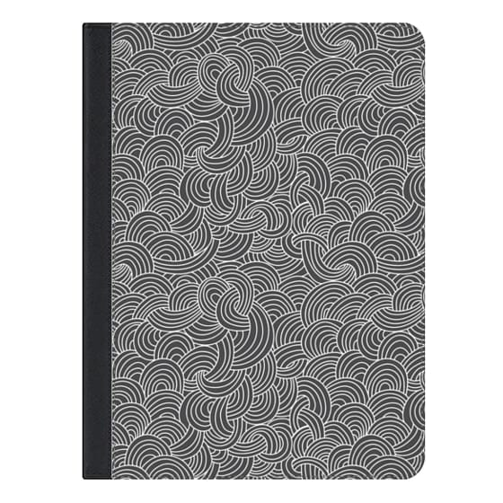 9.7-inch iPad Covers - Cloud Doodle
