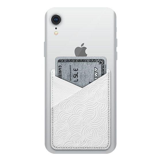 iPhone XR Cases - Cloud Doodle