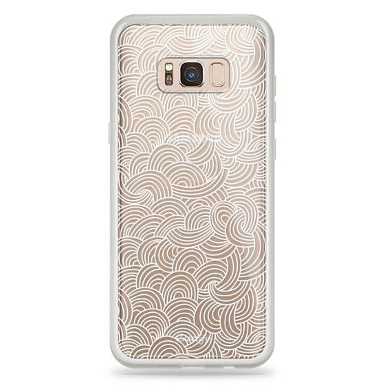 Samsung Galaxy S8 Plus Cases - Cloud Doodle