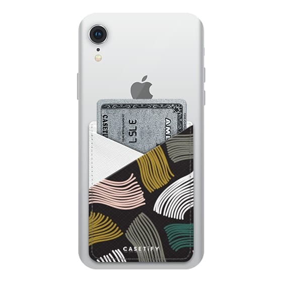 iPhone XR Cases - Squiggle (black)