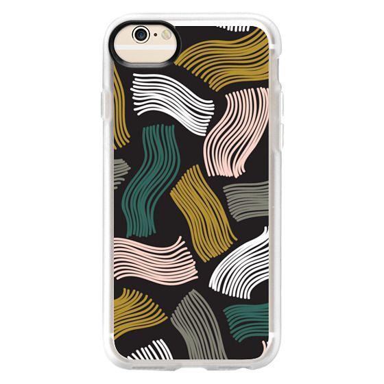 iPhone 6 Cases - Squiggle (black)