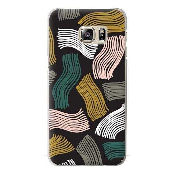 Samsung Galaxy S6 Edge Plus Cases - Squiggle (black)