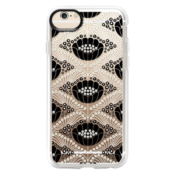 iPhone 6 Cases - Art Deco Blossom (clear)
