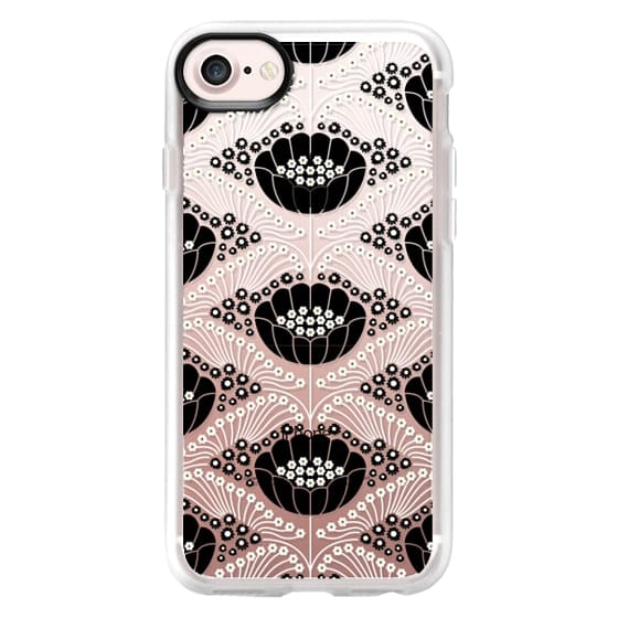iPhone 7 Cases - Art Deco Blossom (clear)