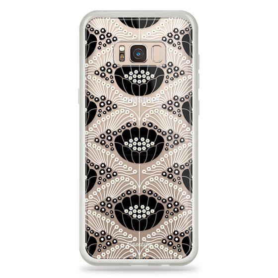 Samsung Galaxy S8 Plus Cases - Art Deco Blossom (clear)