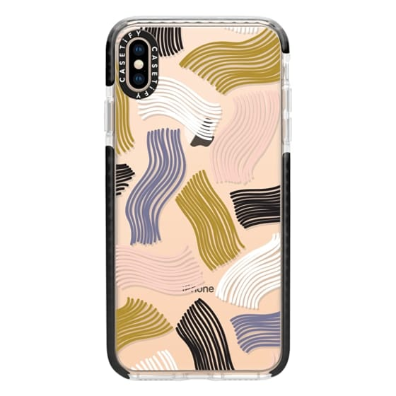iPhone XS Max Cases - Squiggle (clear)