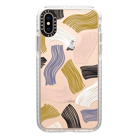 iPhone XS Cases - Squiggle (clear)
