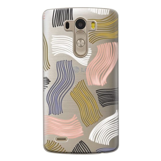 Lg G3 Cases - Squiggle (clear)