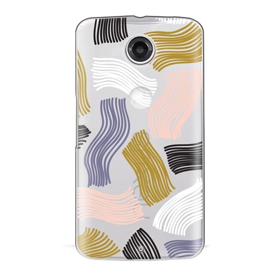 Nexus 6 Cases - Squiggle (clear)