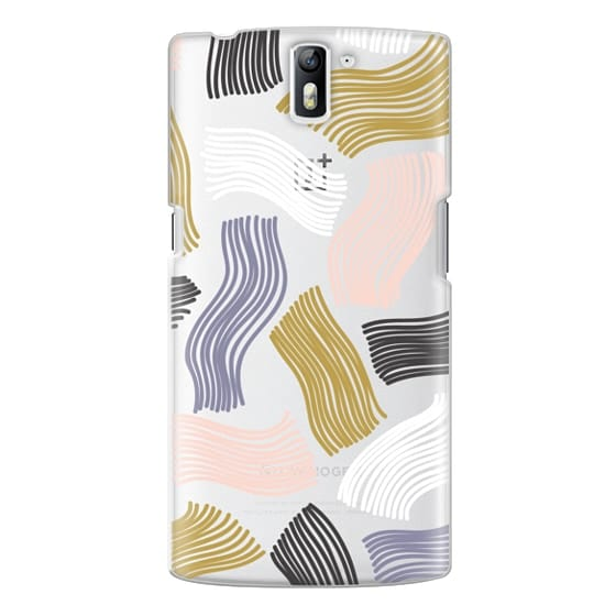 One Plus One Cases - Squiggle (clear)