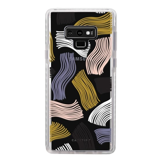 Samsung Galaxy Note 9 Cases - Squiggle (clear)