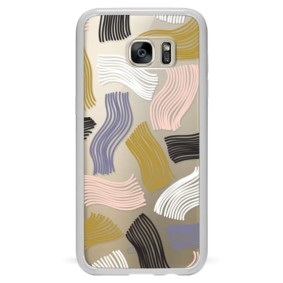 Samsung Galaxy S7 Edge Cases - Squiggle (clear)