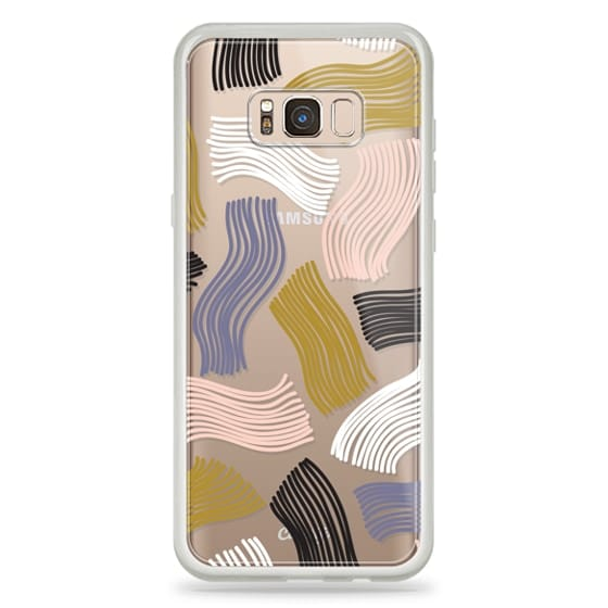 Samsung Galaxy S8 Plus Cases - Squiggle (clear)