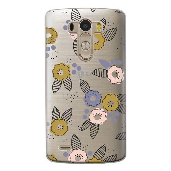 Lg G3 Cases - Stripe Floral
