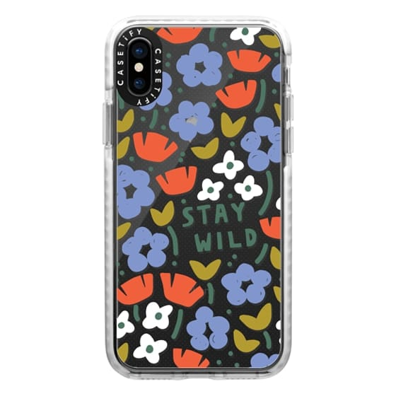 iPhone XS Cases - Stay Wild