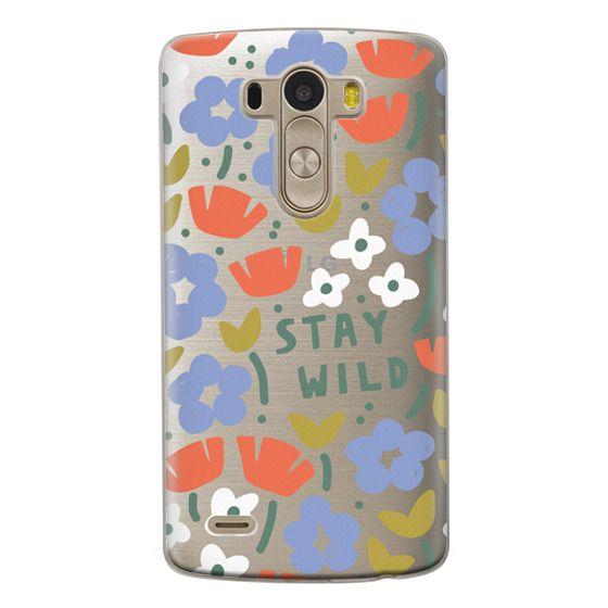 Lg G3 Cases - Stay Wild