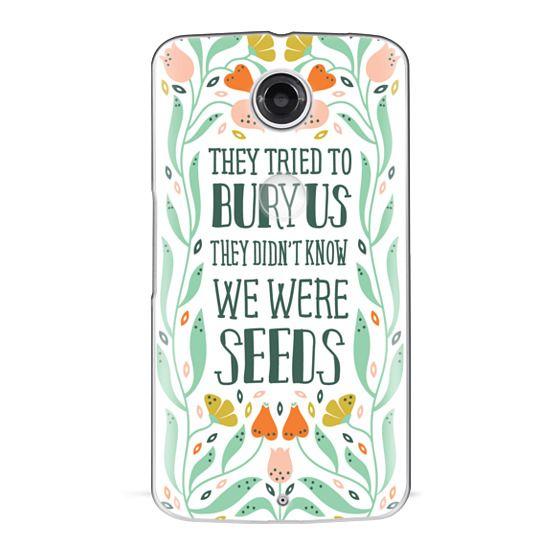 Nexus 6 Cases - They Tried to Bury Us