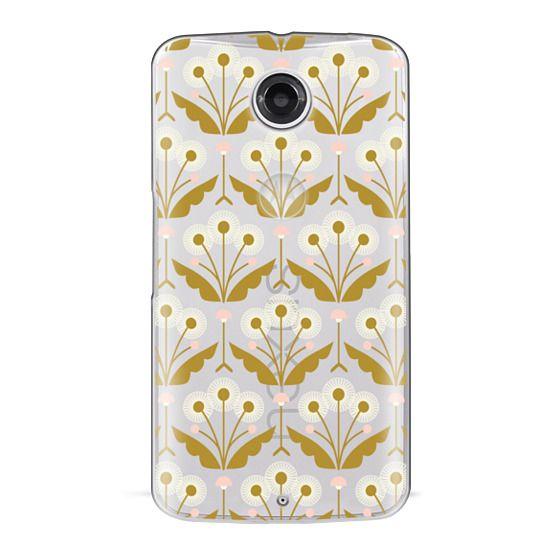 Nexus 6 Cases - Dandelions (clear)