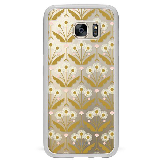 Samsung Galaxy S7 Edge Cases - Dandelions (clear)