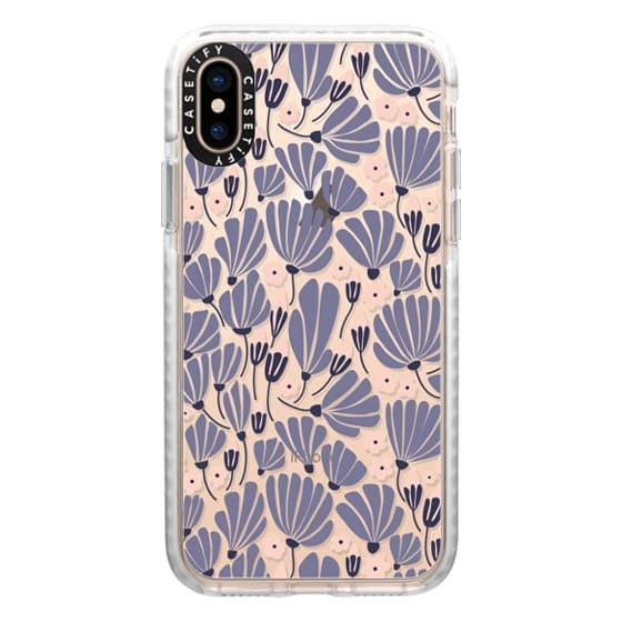 iPhone XS Cases - Breezy Floral