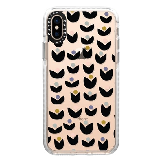 iPhone XS Cases - Tulips