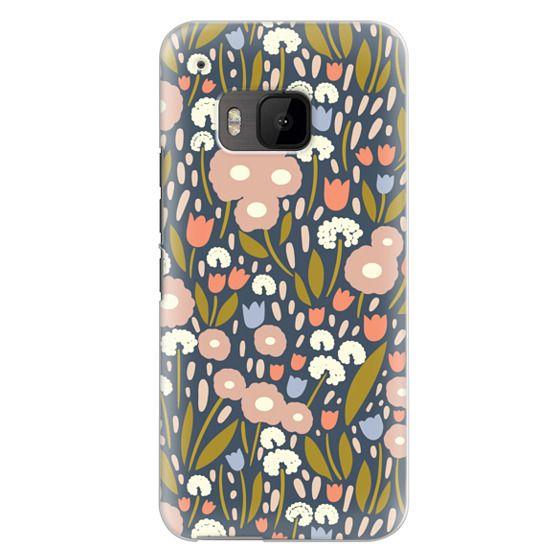 Htc One M9 Cases - Floral Aura