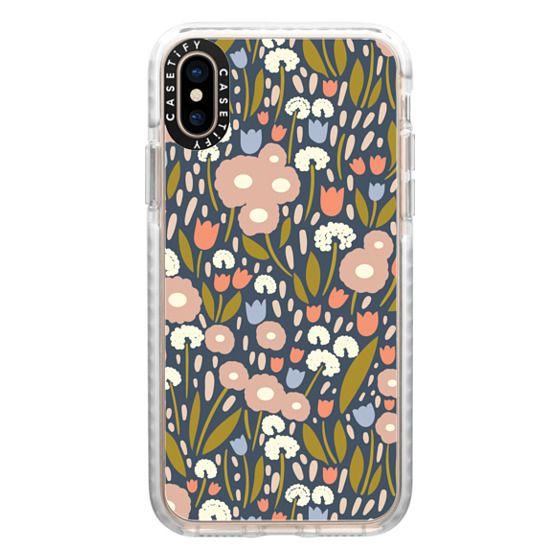 iPhone XS Cases - Floral Aura