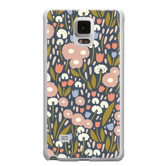 Samsung Galaxy Note 4 Cases - Floral Aura