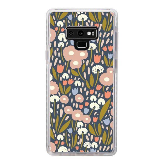 Samsung Galaxy Note 9 Cases - Floral Aura