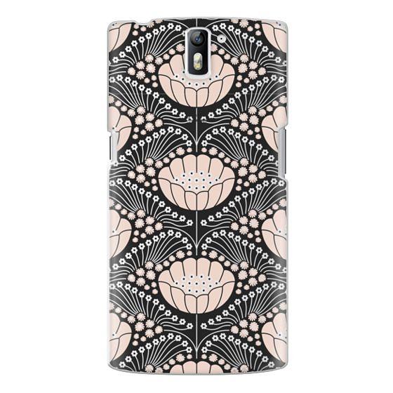 One Plus One Cases - Art Deco Blossom (black)